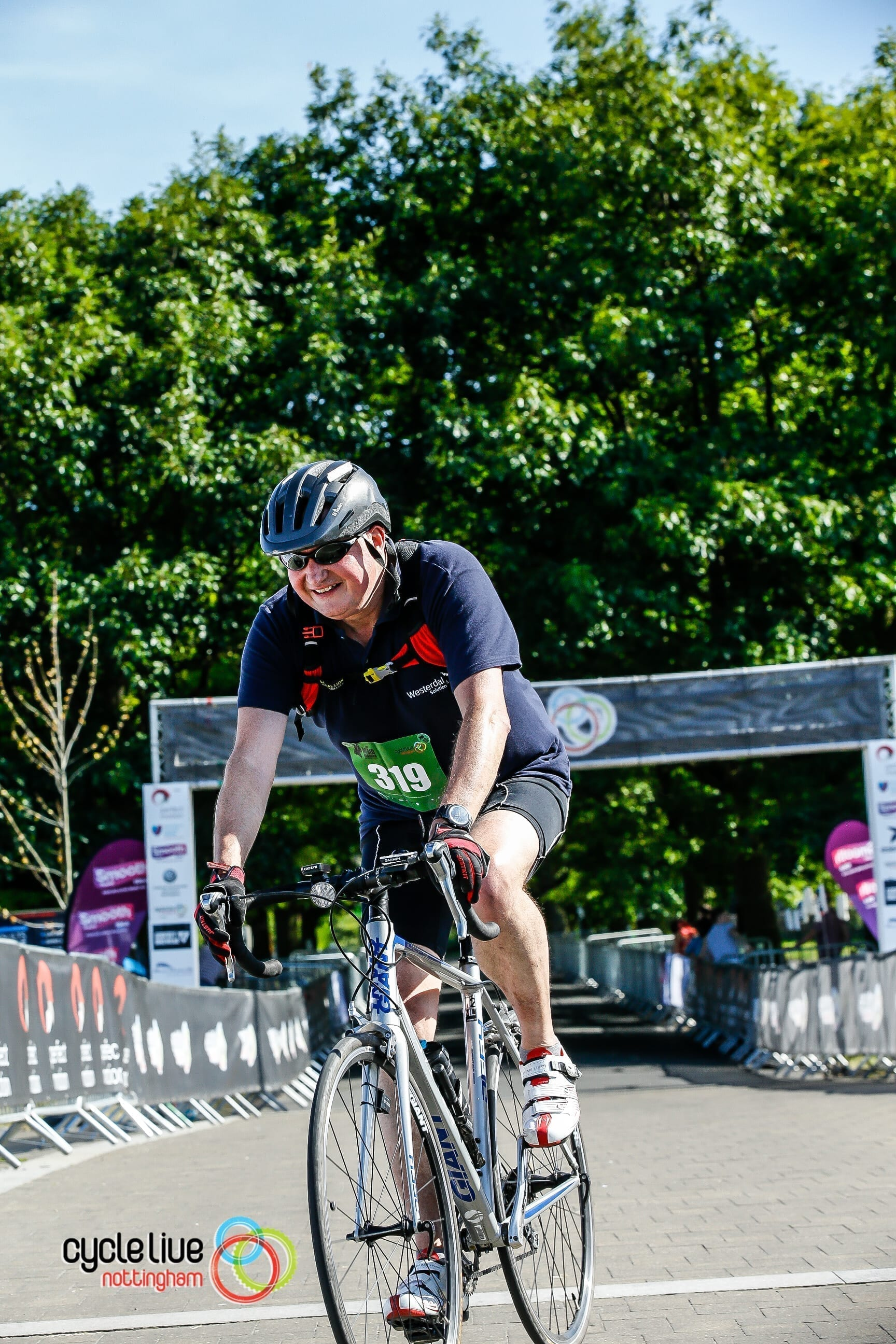 Cycle Live Nottingham 2019: 75 Miles