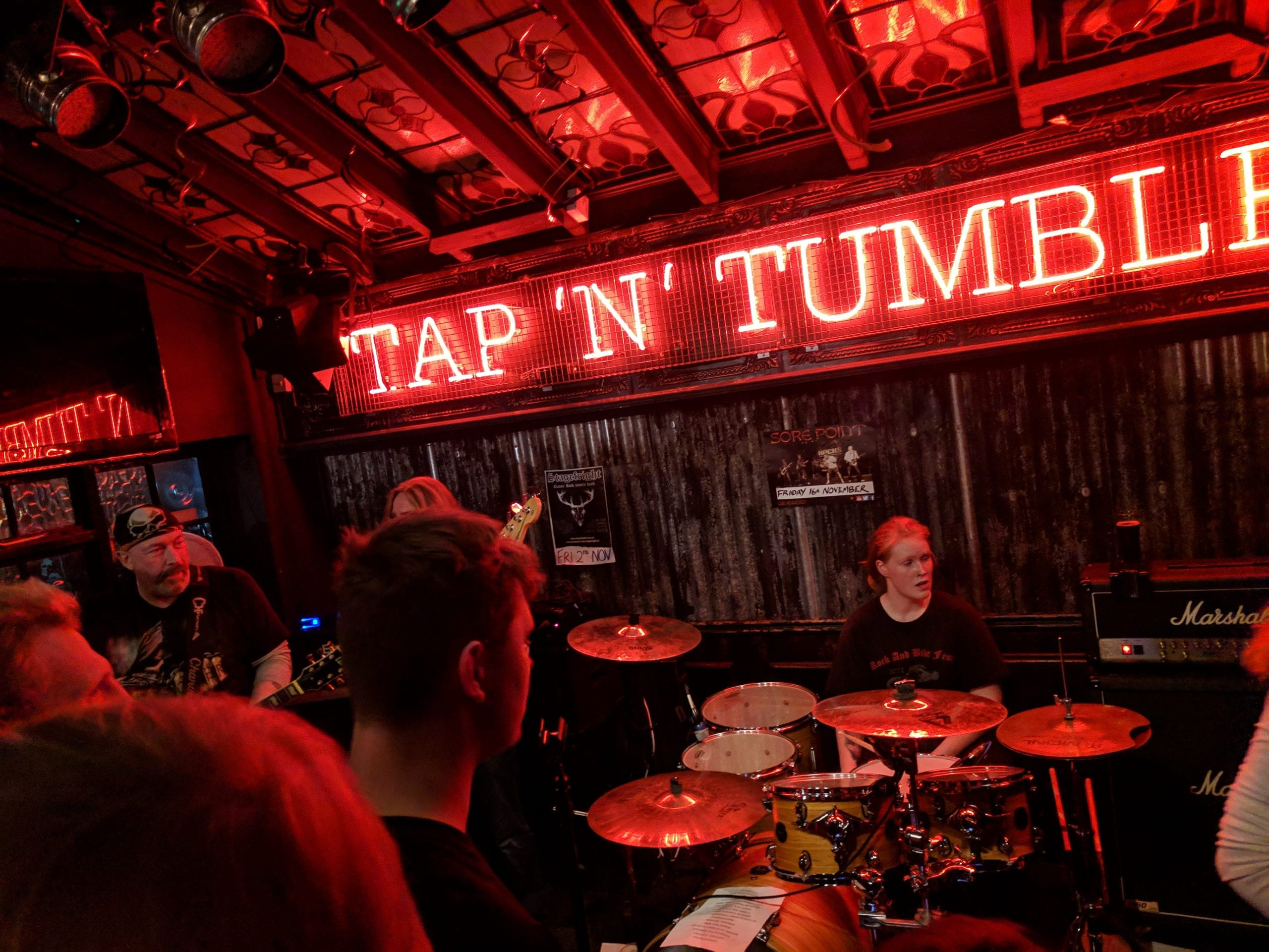 The famous Tap'n'Tumber iconic pub